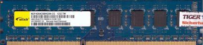 elixir M2F4G64CB8HG5N-CG PC3-10600 4GB DDR3 1333MHz Arbeitsspeicher RAM* r691