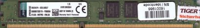 Kingston KVR13N9S8 4 PC3-10600 4GB DDR3 1333MHz 99U5474-028 A00LF RAM* r692