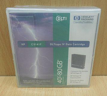 HP C5141F 40GB 80GB DLT tape IV Data Cartridge C5141-85701 Neu OVP* so811