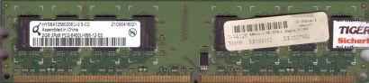 Qimonda HYS64T256020EU-2.5-C2 PC2-6400 2GB DDR2 800MHz Arbeitsspeicher RAM* r695