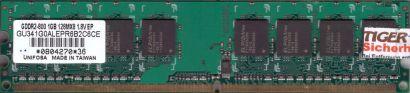 Unifosa GU341G0ALEPR6B2C6CE PC2-6400 1GB DDR2 800MHz Arbeitsspeicher RAM* r696