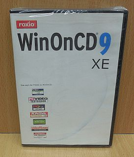 Roxio WinOnCD 9 XE Brennprogramm CD DVD Brennen Musik Disc Label erstellen* sw01