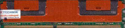 Hynix HYMP525F72BP4N2-Y5 AB-A FB DIMM 2GB PC2-5300F 667MHz HP 398707 051 RAM*r04