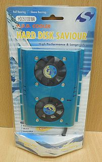 Spire HD05010B1M4 HDD Cooler Kühler HDD Festplattenkühler blau Molex 4pin* gl111