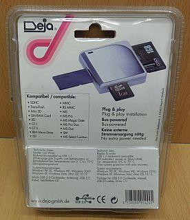 Deja Multi Slot 18 in 1 USB 2.0 Kartenleser Laptop Notebook Computer PC* kl46