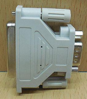 Seriell Adapter SUB D 25 pol weiblich Buchse 9 pol männlich Stecker serial*pz759