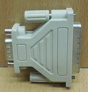 Seriell Adapter SUB D 25 pol weiblich Buchse 9 pol männlich Stecker serial*pz760