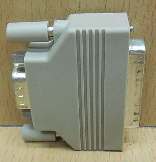 Seriell Adapter SUB D 25 pol weiblich Buchse 9 pol männlich nur 5 belegt* pz761