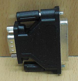 Seriell Adapter SUB D 25 pol weiblich Buchse 9 pol männlich Stecker serial*pz762
