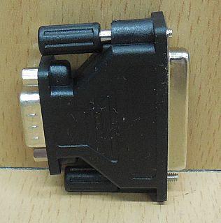 Seriell Adapter SUB D 25 pol weiblich Buchse 9 pol männlich Stecker serial*pz763