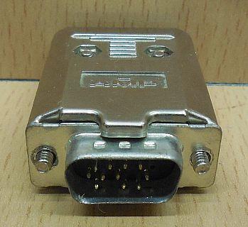 AMP SUB D Haube Gehäuse 15 pol Stecker wovon nur 11 belegt sind * pz764