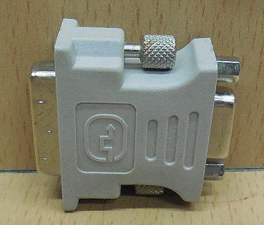 Asus DVI A 6 + 5 pol SUB D 15 pol VGA Adapter analog Stecker Grafikkarte* pz765