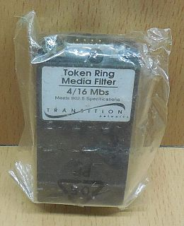 Transition Networks IEEE 802.5 Adapter Token Ring Media Filter 4 16 Mbs* pz767