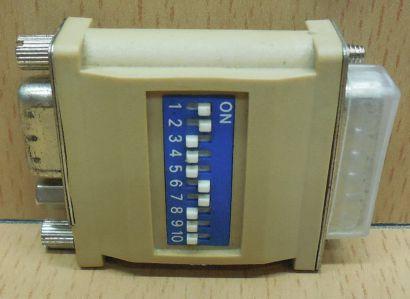 Seriell Adapter SUB D DA 15 pol männlich auf DE 15 pol weiblich serial* pz768