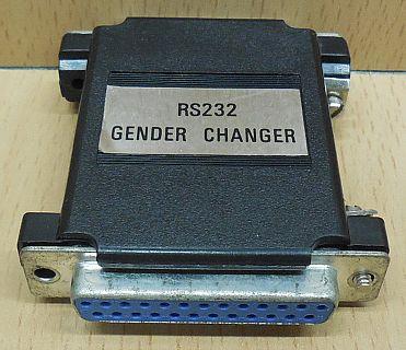 RS232 Gender Changer seriell SUB D 25 pol weiblich auf 25 pol weiblich* pz770