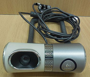 Logitech QuickCam Ultra Vision V-UBH44 Webcam Laptop Notebook PC Win 7 10* pz785