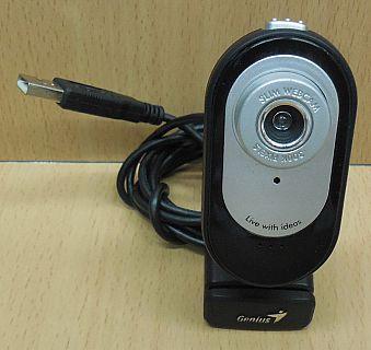 Genius Slim 322 USB 2.0 Webcam Laptop Notebook PC Video Camera Win XP 7* pz786