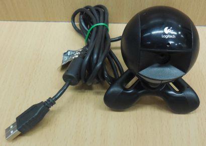 Logitech QuickCam Communicate STX V-UAM14A Webcam Notebook PC Win 7 10* pz789