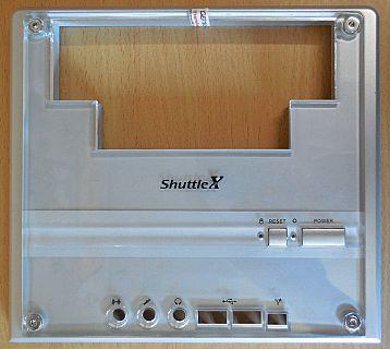 Shuttle XPC Spiegel Frontblende PF61 für SK43G SK83G SB51G SN45G2 SN45GV2* pz568