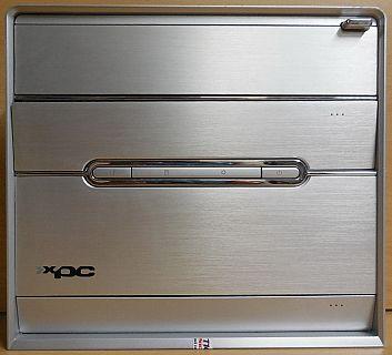 Shuttle XPC Aluminium Frontblende für SB83G5 SN95G5 nForce 3 Ultra* pz573