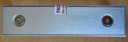 Shuttle XPC Aluminium Floppy Blende für SB75G2 SB65G2 SB61G2 V3 SN41G2 V2* pz572