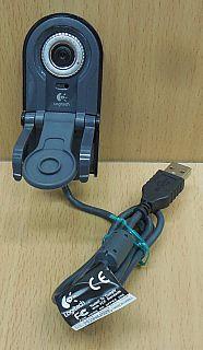 Logitech QuickCam for Notebooks Pro V-UJ15 Webcam Laptop PC Win 98 2000 XP*pz749