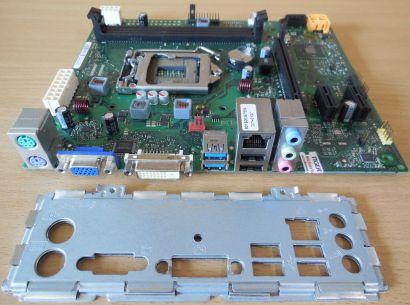Fujitsu Esprimo P420 D3230-A13 GS2 Mainboard +Blende Intel H81 Sockel 1150* m918