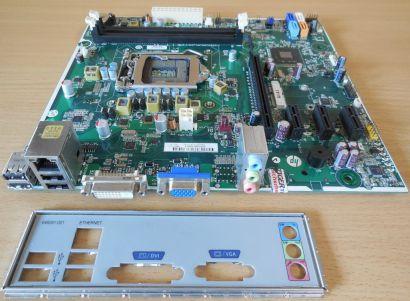 HP Pro 3400MT Cupertino2 H61 Mainboard +Blende 657002 001 Rev0H Sockel 1155*m920
