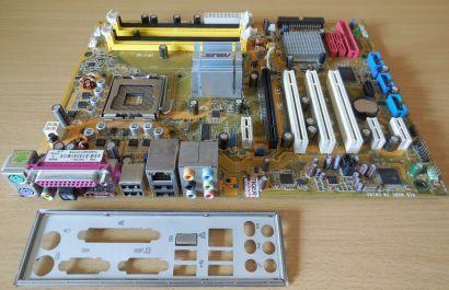 Asus P5B Rev 1.04G Mainboard +Blende Sockel 775 Intel P965 DDR2 SATA2 IDE* m924