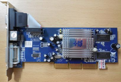 HIS C78H0600 Hightech Excalibur Radeon 9250 128MB 64Bit DDR AGP CRT TV DVI* g391