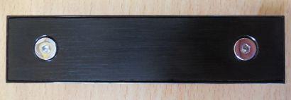 Shuttle XPC Aluminium Floppy Blende SB62G2 SB65G2 SB61G2 SN41G2 Schwarz* pz575