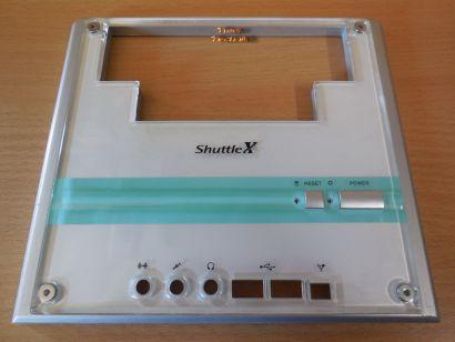 Shuttle XPC Acryl Front Weiß Frontblende für SK43G SK83G SN45G SN45G V2* pz576