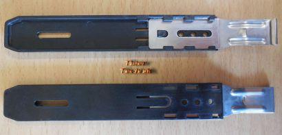 Antec P183 ATX PC Gehäuse Einbauschienen für Laufwerk 5,25 Schwarz 2 Stück*pz577