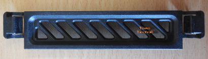Antec P183 ATX PC Gehäuseblende Floppy Platz Abdeckung Schwarz mit Gitter* pz581