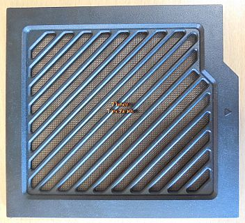 Antec P183 ATX PC Gehäuseblende Lüfterfilter Abdeckung Schwarz mit Gitter* pz582