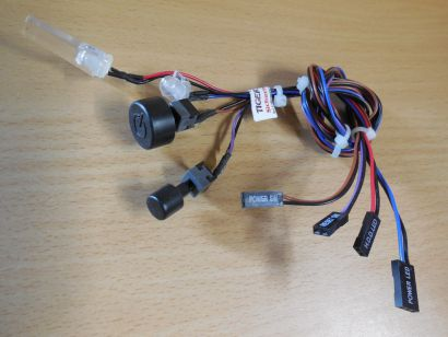 Antec P183 ATX PC Gehäuse Power Schalter Reset Power HDD LED* pz584