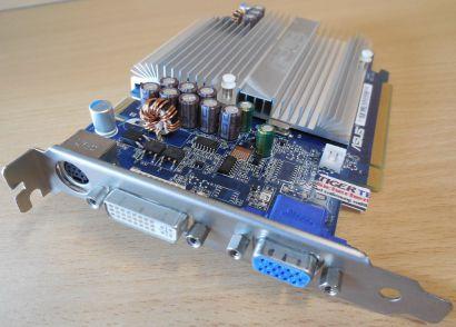 ASUS EN7300GT SILENT HTD GF 7300GT 256MB 128Bit DDR2 SLI PCI-E VGA DVI HDTV*g393