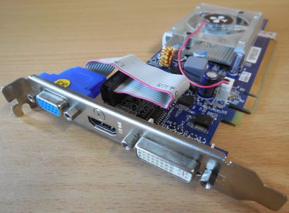 Club 3D CGNX-212LI GeForce 210 HDCP 512MB 64Bit GDDR2 PCIe 2.0 VGA HDMI DVI*g394