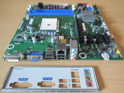 HP AAHD2-HY Rev 1.03 Mainboard +Blende 696350 001 701022 Rev 0C Sockel FM1* m934