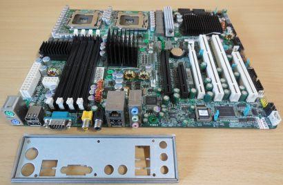 Tyan Tempest i5000XL S2692 ANR Mainboard +Blende Intel Sockel 771 DUAL CPU* m935