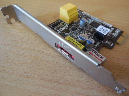 ASRock SATA 3 Card Rev1.02 2x SATA3 ports intern 1x eSATA port extern 6Gb s*sk49