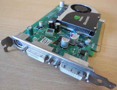 PNY VCQFX1700-PCIE nVIDIA Quadro FX 1700 PCI-E 512MB 128Bit 2 Dual DVI HDTV*g396