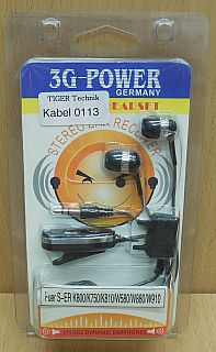 Headset für Sony Ericsson K800 K750 K810 W580 W880 W910 Fastport HPM-70* so827