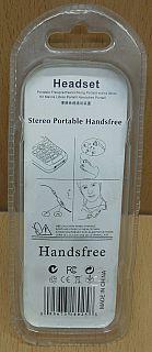 Headset für Sony Ericsson K800 K750 K810 W580 W880 W910 Fastport HPM-70* so828