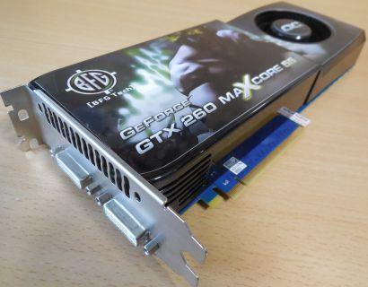 BFG MAXCORE 55 BFGRGTX260MC8960CDE 896MB 448Bit GDDR3 SLI PCI-E 2.0 2 DVI* g406