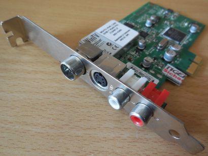 Hauppauge WinTV HVR 1200 DVB-T Multi PAL 71959 LF H2E9 PN 5188-8943 PCI-E* tk54