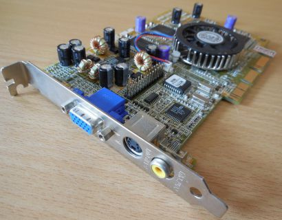 ASUS AGP-V7700 T P 32M TVR SG MEDION GF2 GTS 32MB 128Bit VGA S-Vid COMP Out*g407