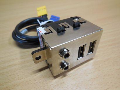 HP 457468-001 Front USB Audio IO Panel Compaq dc5800 dc7800 dc7900 SFF* pz586