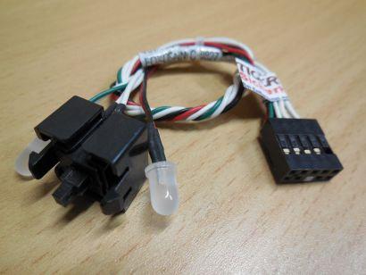HP 414238-001 Power Schalter LED Compaq dc7700 dc7800 dc7800p dc7900 SFF* pz591