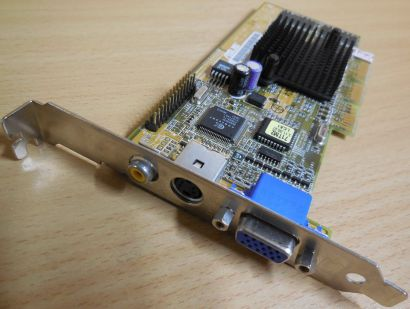 Asus AGP-V7100 T 32M SD MEDION GeForce 2 MX 32MB 128Bit VGA S-Vid COMP Out* g409